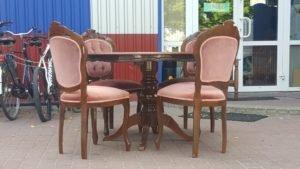 Обідній стіл та 4 стільці Бароко, А10364-0