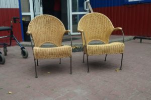 Садові крісла, 2 шт, А10348-0
