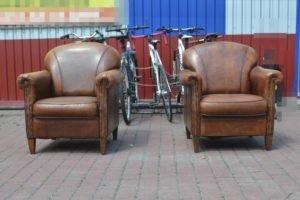 Шкіряні крісла, 2 шт, А10391-0