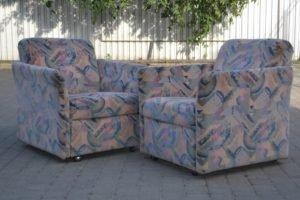 Вінтажний комплект: розкладний диван+1+1, А10370-0