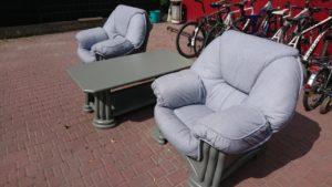 Журнальний стіл та 2 крісла, А10346-0
