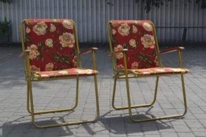Розкладні крісла, 2 шт., А10453-0